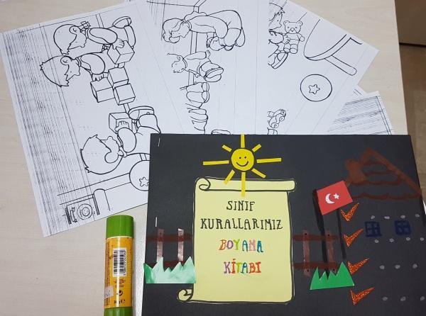 Sinif Kurallari Boyama Kitabi Olusturduk Yenimahalle Anaokulu